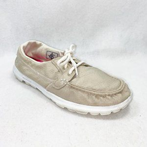 Skechers On-The-Go 13780 Natural Boat Shoes 8.5